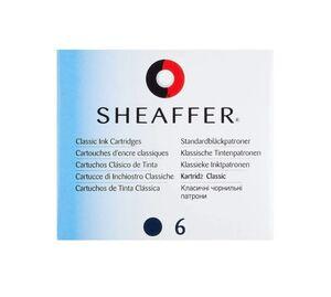 SHEAFFER RECAMBIO PLUMA CLASSIC AZUL 6 UNDS