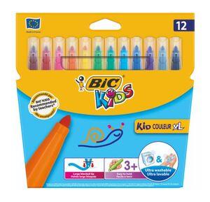 BIC KIDS ROTULADOR COULEUR 12 COLORES XL