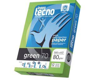INAPA TECNO GREEN A3 RECICLADO 80GRS. 500 HOJAS