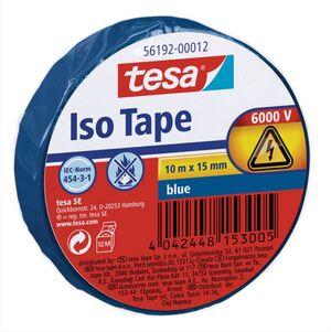 TESA CINTA AISLANTE ISO TAPE 15MM. X 10M. AZUL