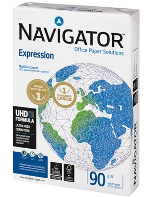 NAVIGATOR PAPEL A4 EXPRESSION 90GRS. 500 HOJAS