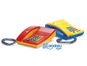 ANDREUTOYS JUEGO TELEFONO CON TECLAS Y SONIDO