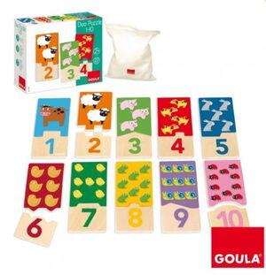 GOULA PUZZLE INFANTIL DUO 1-10