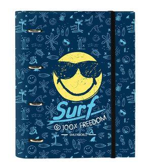 SAFTA CARPEBLOCK CON RECAMBIO SMILEY WORLD SURF