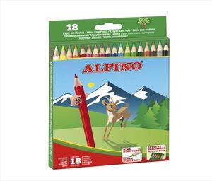 ALPINO LÁPICES DE MADERA 18 COLORES