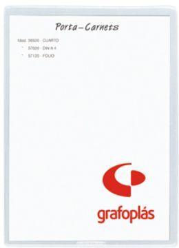 GRAFOPLAS FUNDA PVC 85 X 135MM.