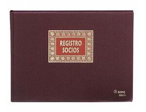 DOHE LIBRO SOCIOS FOLIO APAISADO