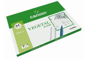 CANSON PAPEL VEGETAL A4 BASIK 250 HOJAS