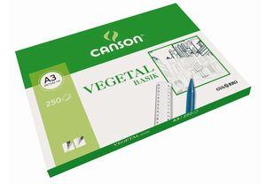 CANSON PAPEL VEGETAL A3 BASIK 250 HOJAS