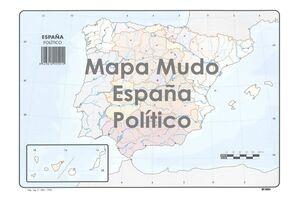 SELVI MAPA ESPAÑA POLÍTICO MUDO A4