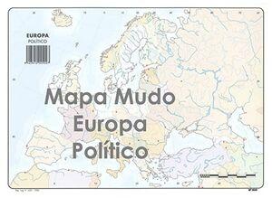 SELVI MAPA EUROPA POLÍTICO MUDO A4