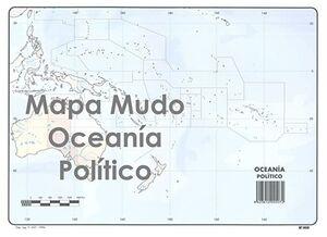 SELVI MAPA OCEANÍA POLÍTICO MUDO A4