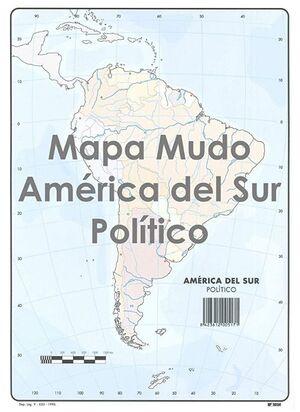 SELVI MAPA AMÉRICA DEL SUR POLÍTICO MUDO A4