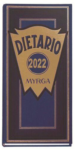MYRGA DIETARIO 2/3 DÍA PÁGINA 2021 AZUL