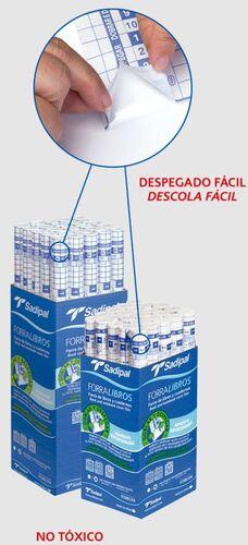 SADIPAL FORRALIBROS ROLLO ADHESIVO 0,50 X 1,5M.