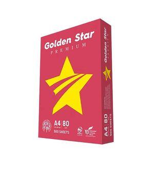 GOLDEN STAR PAPEL A4 MULTIFUNCIÓN PREMIUM 80GRS. 500 HOJAS