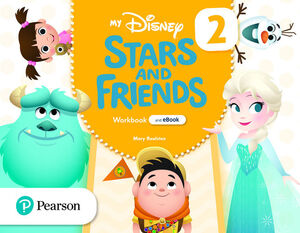 MY DISNEY STARS AND FRIENDS 2. WORKBOOK WITH EBOOK. PEARSON ´21