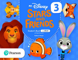 MY DISNEY STARS AND FRIENDS 3. STUDENT'S BOOK. PEARSON ´21