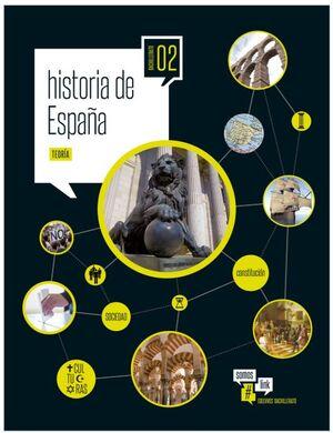 HISTORIA DE ESPAÑA 2º BACHILLERATO. EDELVIVES ´16