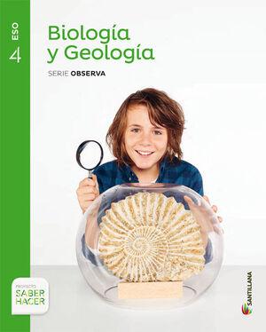 BIOLOGÍA Y GEOLOGÍA 4º ESO. OBSERVA. SANTILLANA ´16