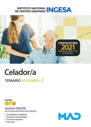 CELADOR/A INGESA TEMARIO VOLÚMEN 2