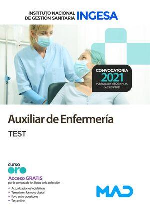 AUXILIAR DE ENFERMERÍA INGESA TEST
