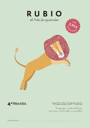 VACACIONES RUBIO (4.º DE PRIMARIA)