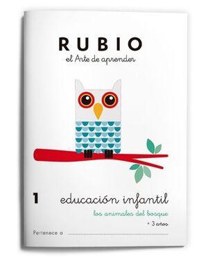 RUBIO EDUCACIÓN INFANTIL 1. LOS ANIMALES DEL BOSQUE