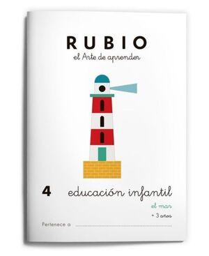 RUBIO EDUCACIÓN INFANTIL 4. EL MAR