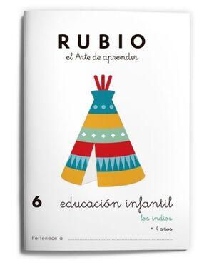 RUBIO EDUCACIÓN INFANTIL 6. LOS INDIOS