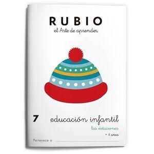 RUBIO EDUCACIÓN INFANTIL 7. LAS ESTACIONES