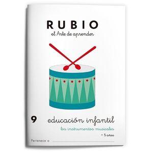 RUBIO EDUCACIÓN INFANTIL 9. LOS INSTRUMENTOS MUSICALES