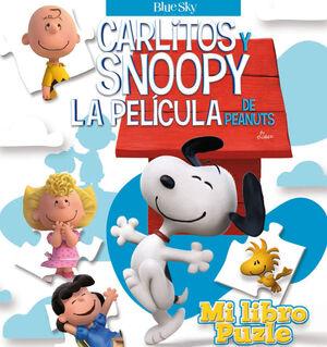 MI LIBRO PUZLE - CARLITOS Y SNOOPY - LOS LIBROS DE LA PELÍCULA