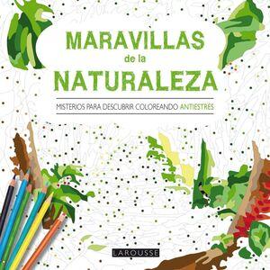 MARAVILLAS DE LA NATURALEZA. MISTERIOS PARA DESCUBRIR COLOREANDO