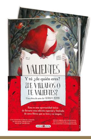 VILLANOS Y VALIENTES (PACK DÚO)