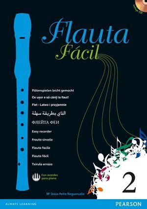 FLAUTA FÁCIL 2. PEARSON ´13