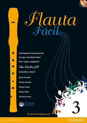 FLAUTA FÁCIL 3. PEARSON ´13