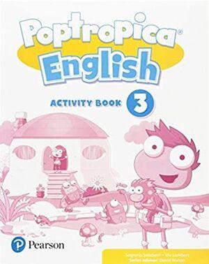 POPTROPICA 3º PRIMARY. ACTIVITY BOOK. PEARSON ´18