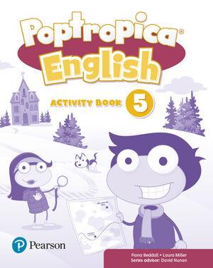 POPTROPICA 5º PRIMARY. ACTIVITY BOOK. PEARSON ´18