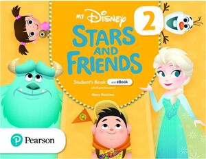 MY DISNEY STARS AND FRIENDS 2 STUDENT'S BOOK + WORKBOOK. PEARSON ´21