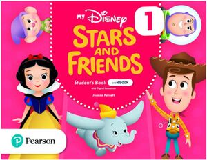 MY DISNEY STARS AND FRIENDS 1 STUDENT'S BOOK + WORKBOOK. PEARSON ´21