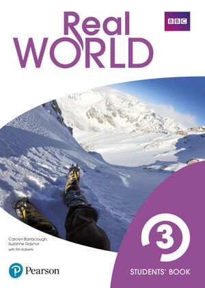 REAL WORLD 3º ESO. STUDENT'S BOOK. PEARSON ´21