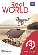REAL WORLD 4 STUDENT'S BOOK PRINT & DIGITAL INTERACTIVE STUDENT'S BOOKACCESS COD