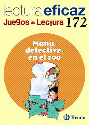 MANU, DETECTIVE, EN EL ZOO JUEGO DE LECTURA