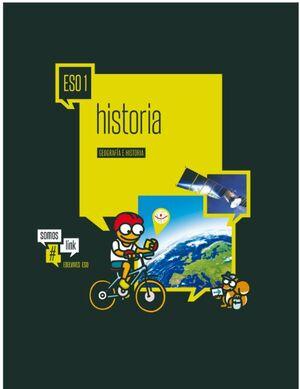 GEOGRAFÍA E HISTORIA 1º ESO. EDELVIVES ´15
