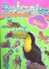 JUEGOS Y PEGATINAS CON ANIMALES (4 TÍTULOS)