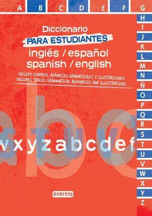 DICCIONARIO PARA ESTUDIANTES DE INGLÉS-ESPAÑOL. SPANISH-ENGLISH