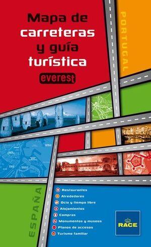 MAPA DE CARRETERAS Y GUÍA TURÍSTICA EVEREST