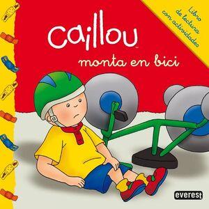 CAILLOU MONTA EN BICI