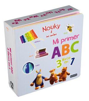NOUKY & SUS AMIGOS. MI PRIMER ABC. TRES LIBROS EN UNO